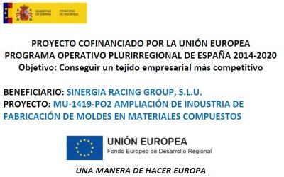 Proyecto de ampliación cofinanciado por la unión europea